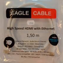 HDMI kábel High Speed with ethernet / 3D / 4K 1,5m