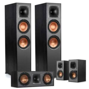 Klipsch R-820F 5.0 hangfal szett, fekete