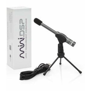 MiniDSP UMIK-1 USB-s kalibrált mikrofon (REW, Dirac Live-hoz)