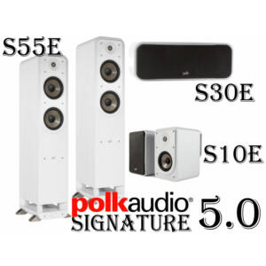 POLK AUDIO Signature S55E hangfal szett 5.0