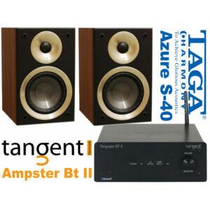 Tangent AmpsterII + Taga Harmony Azure S-40 v.2 - dió sztereó szett