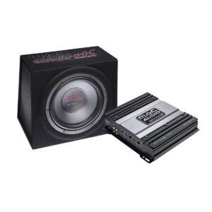 MacAudio Edition S2 Erősítő + Láda csomag