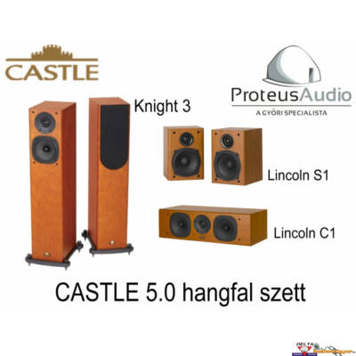 Castle Knight 3 Cinema Pack 5.0 hangfal szett