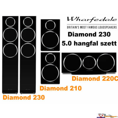 Wharfedale Diamond 230 5.0 hangfal szett