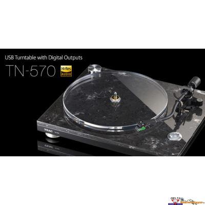 TEAC TN-570 szíjhajtásos bakelit lemezjátszó