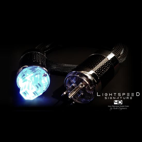 LightSpeed Signature 4D felső kategóriás hálózati tápkábel demo