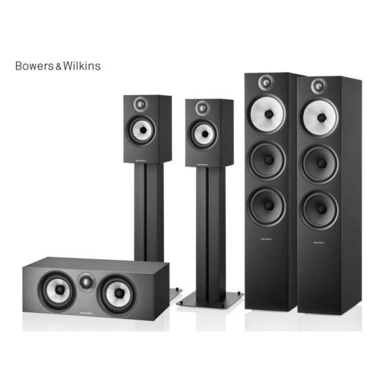 Bowers & Wilkins 603 S2 + 607 S2 + HTM6 S2 5.0 házimozi hangfal szett