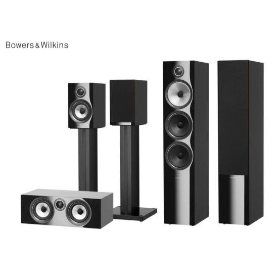 Bowers & Wilkins 703 S2 + 707 S2 + HTM72 S2 5.0 házimozi hangfal szett