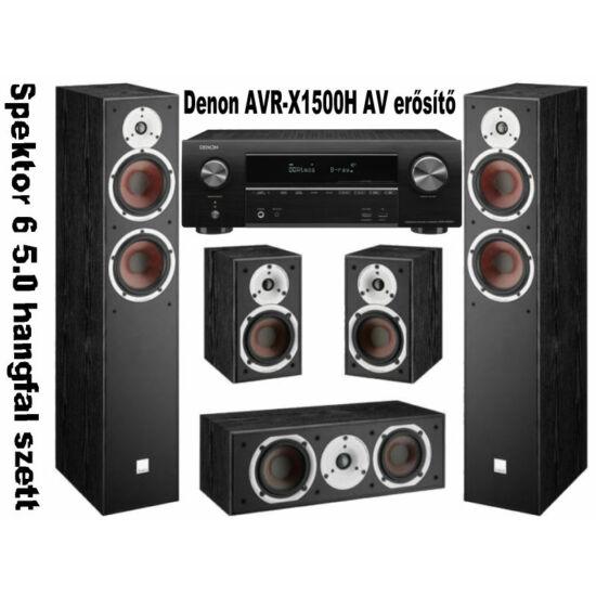 Denon AVR-X1500H + Dali SPEKTOR 6 házimozi szett