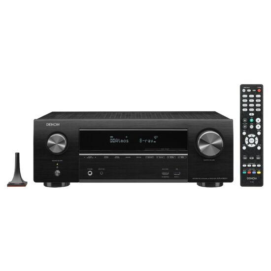 DENON AVR-X1600H 7.2 HD Házimozi rádióerősítő