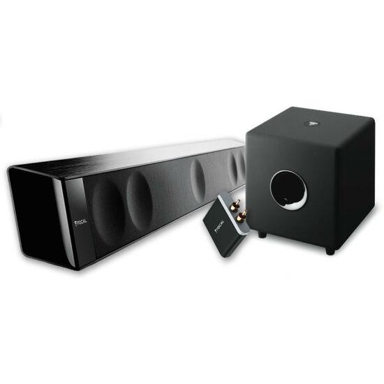 Focal DIMENSION soundbar + CUB 3 mélysugárzó + BLUETOOTH APTX