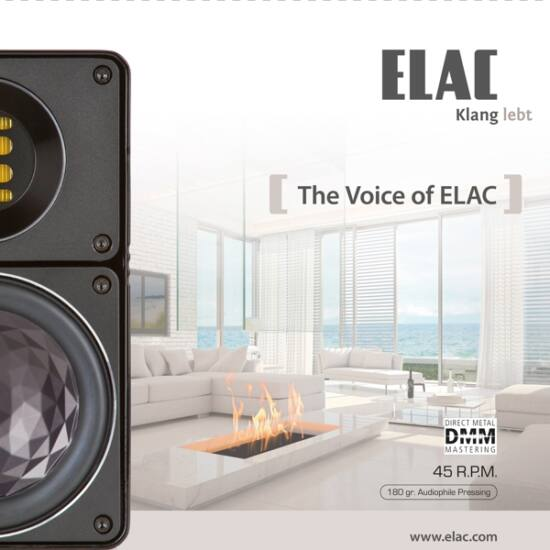 The Voice Of ELAC (LP, 45 RPM)