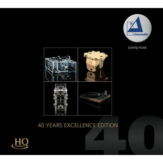 Clearaudio- 40 Years Exzellence Edition (HQCD)