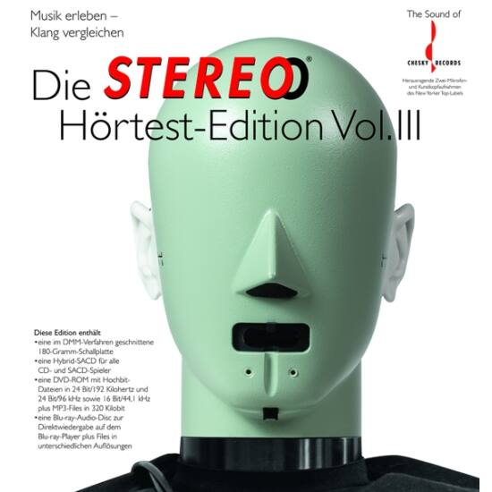 Die Stereo Hörtest Edition III (CD, LP; DVD, Blu-ray)