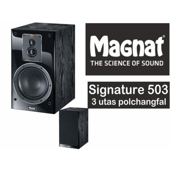 Magnat SIGNATURE 503  polcra helyezhető 3-utas basszreflex hangsugárzó pár
