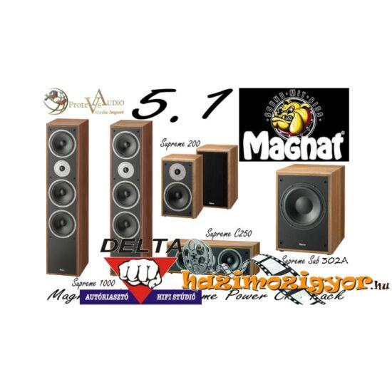 Magnat Monitor Supreme 1002 5.1 hangfal szett 302A mélysugárzóval