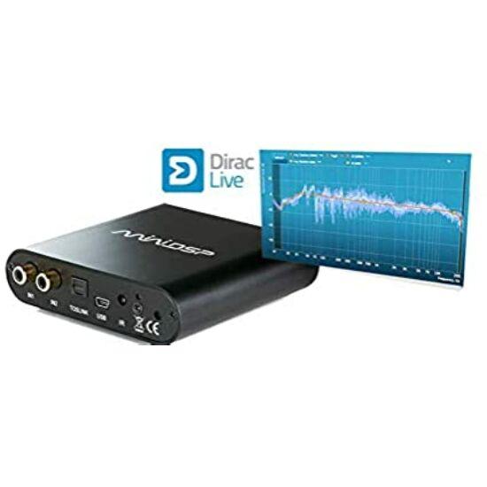 MiniDSP DDRC-24 USB DAC Digital Signal Processor Dirac Live