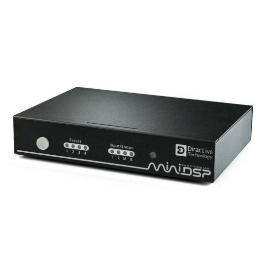 MiniDSP nanoAVR DL nagy felbontású, 8 csatornás Dirac Live Audio processzor