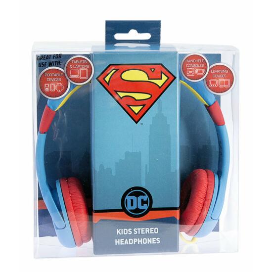 SUPERMAN JUNIOR vezetékes fejhallgató kisgyermekek számára