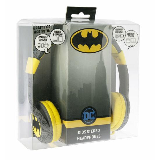 BATMAN SIGNAL vezetékes fejhallgató kisgyermekek számára