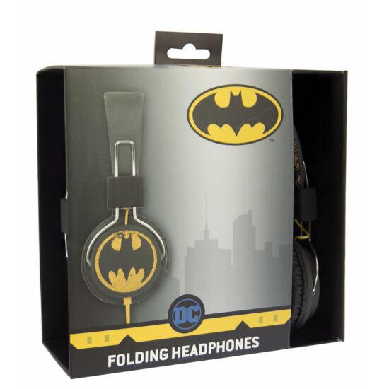 VINTAGE BATMAN vezetékes fejhallgató kisgyermekek számára
