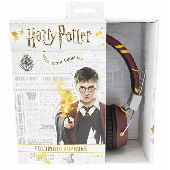 Harry Potter GRYFFINDOR CREST vezetékes fejhallgató