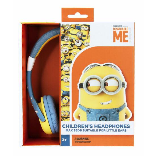 MINIONS vezetékes fejhallgató kisgyermekek számára