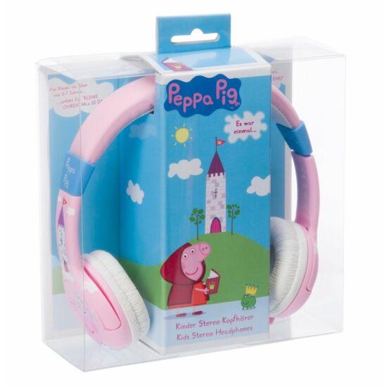 PEPPA PIG PRINCESS MULTI LINGUAL vezetékes fejhallgató kisgyermekek számára
