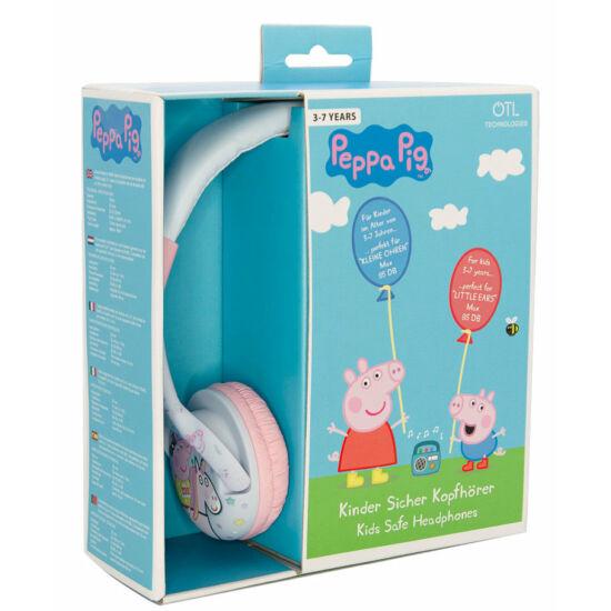 UNICORN PEPPA vezetékes fejhallgató kisgyermekek számára