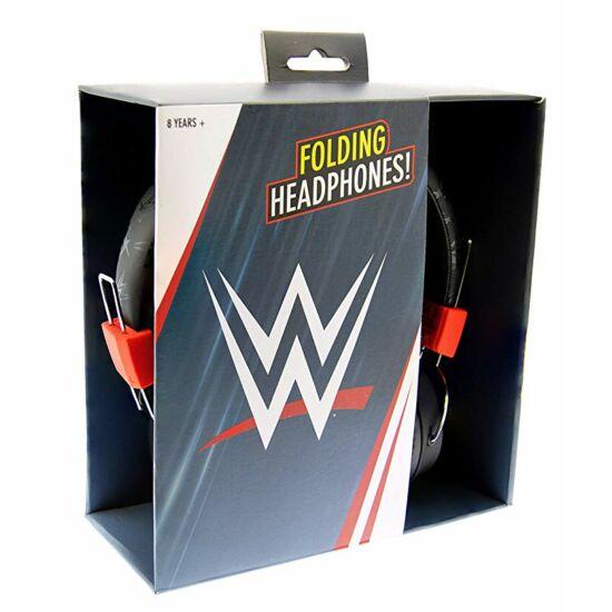 WWE NEW LOGO HEADPHONE vezetékes fejhallgató kisgyermekek számára