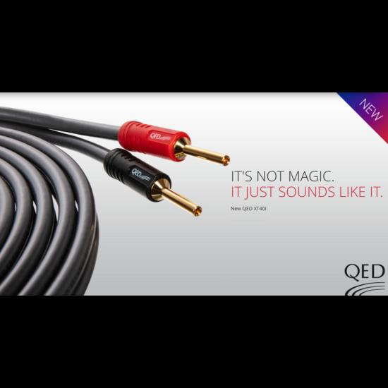 QED PERFORMANCE XT40i hangfal kábel XTC méterenként