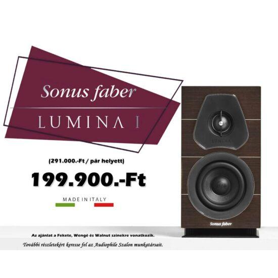 Sonus faber Lumina 1 2 utas álló polcra/állványra helyezhető hangfal pár