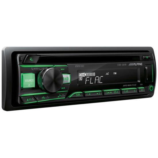 ALPINE CDE-201R USB,CD,MP3 AUTÓRÁDIÓ
