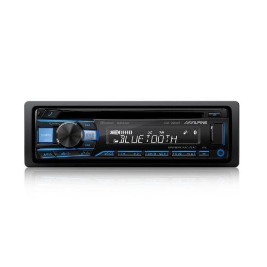 ALPINE CDE-203BT BLUETOOTH, USB,CD,MP3 AUTÓRÁDIÓ
