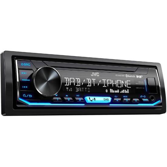 JVC KD-X451DBT Mechanika nélküli USB autórádió , Bluetooth, DAB+ rádióvevõvel