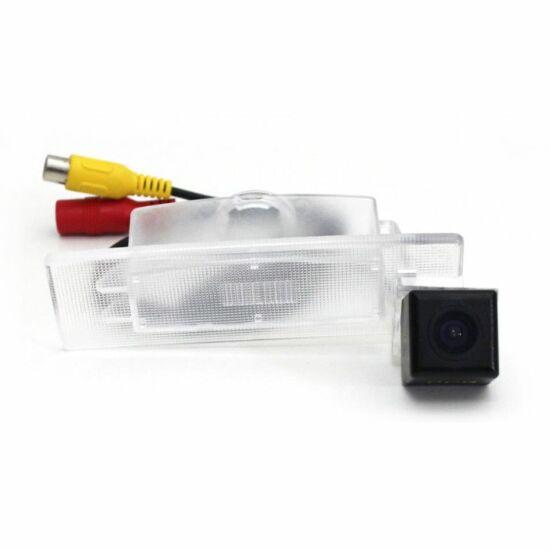 KIA Optima (2011-)KIA K5 (2011-) Autóspecifikus rendszámmegvilágítás helyére szerelhető tolató kamera KIA-8123C