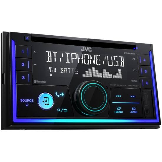 JVC KW-R930BT 2DIN BLUETOOTH,USB,CD,MP3 AUTÓRÁDIÓ