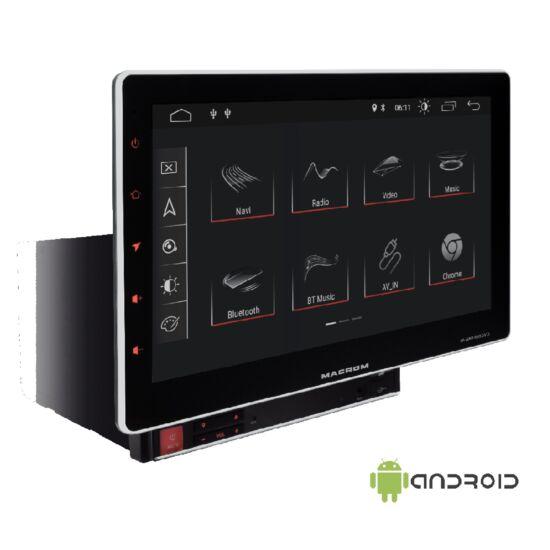 Macrom M-AN1000DVD Android 2DIN multimédia monitor DVD lejátszóval