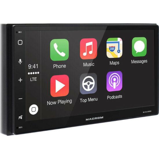 Macrom M-DL9000 2 DIN méretû érintõképernyõs multimédia mobil navigációval