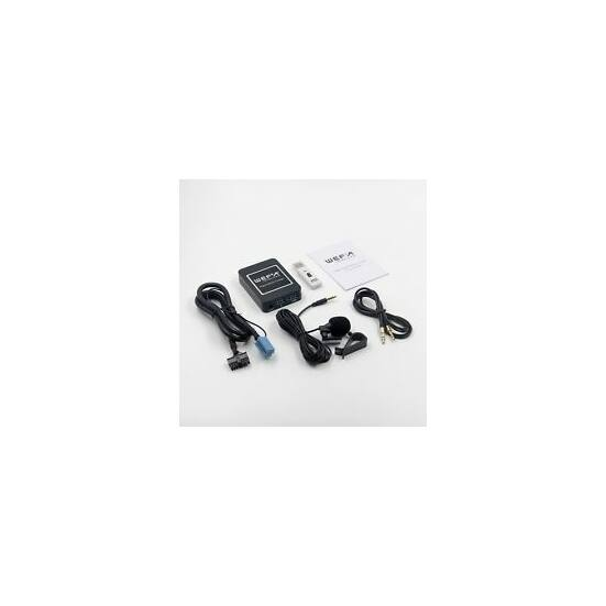 Wefa WF-606 Bluetooth/MP3/USB/AUX illesztő (Renault, Mini ISO)