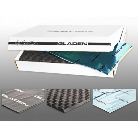 Gladen AERO akusztikai csillapító anyag készlet 2 ajtóra professzional