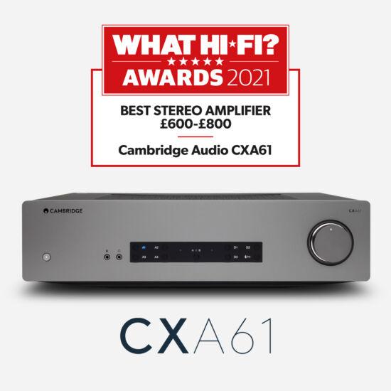 Cambridge Audio CXA61 Bluetooth Sztereó Integrált Erősítő és DAC