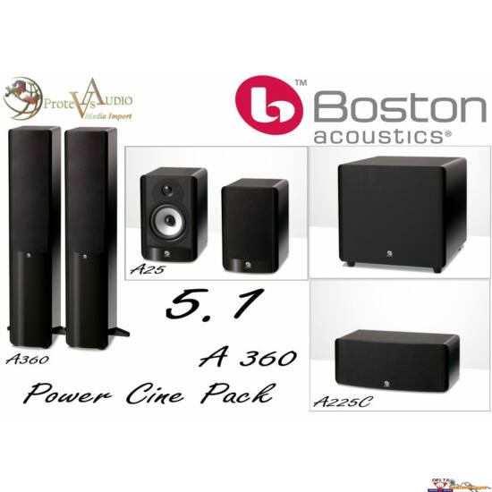 Boston Acoustics A 360 5.1 hangfal szett