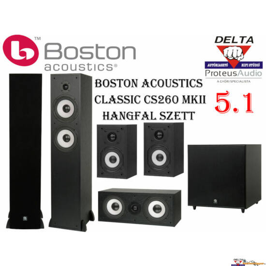 Boston Acoustics Classic CS260 5.1 hangfal szett