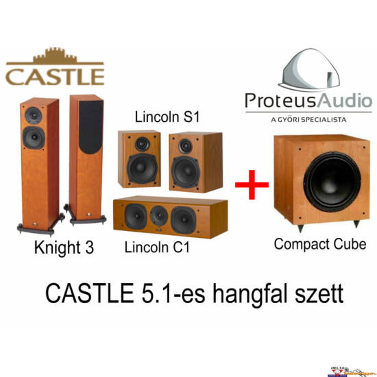 Castle Knight 3 Cinema Pack 5.1 hangfal szett