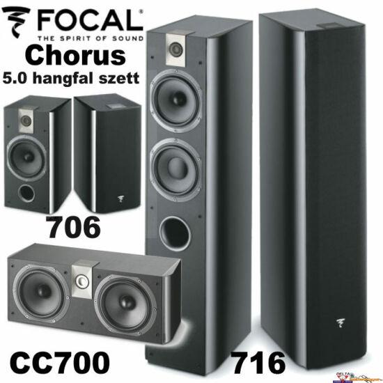 FOCAL CHORUS 716 hangfal szett 5.0