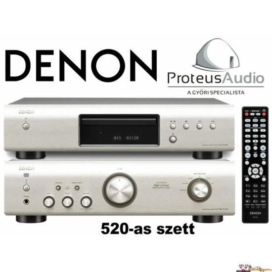 Denon PMA-520, dcd-520 Sztereó szett