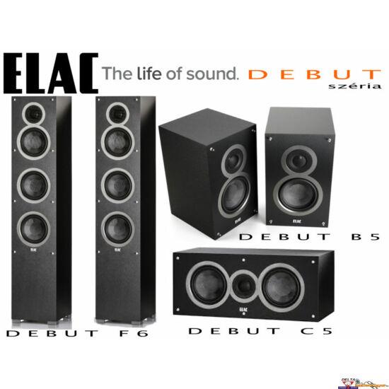 ELAC Debut F6 hangfal szett 5.0