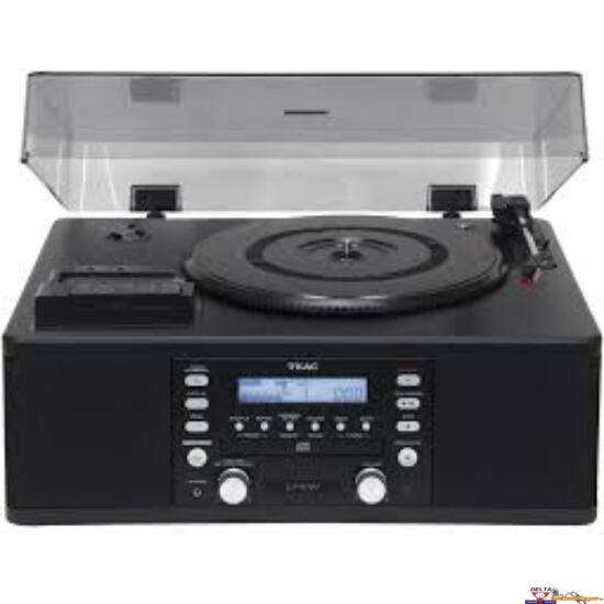 TEAC LP-R500A Lemezjátszó/CD-író rendszer rádióvevővel, erősítővel és beépített hangsugárzókkal
