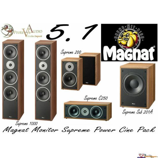 Magnat Monitor Supreme 1002 5.1 hangfal szett 202A mélysugárzóval